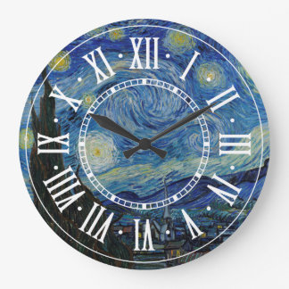 Vincent van Gogh - The Starry Night | Masterpiece Large Clock
