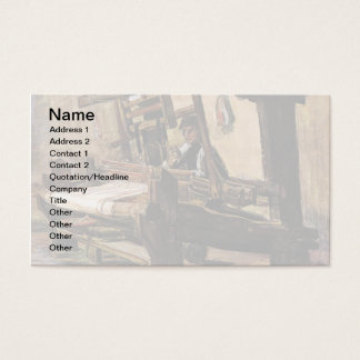 Vincent Van Gogh – The Weaver - Fine Art Business Card