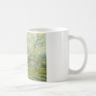 Vincent van Gogh - The White Orchard Coffee Mug