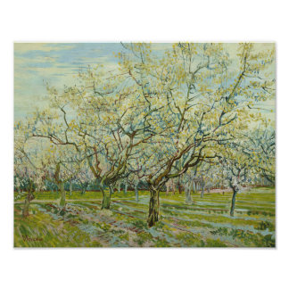 Vincent van Gogh - The White Orchard Poster