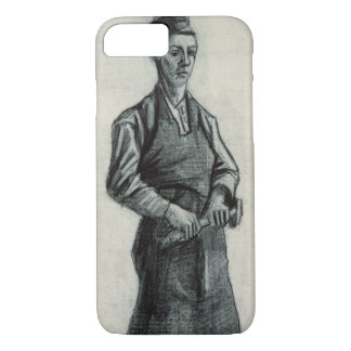 Vincent van Gogh | The Young Blacksmith, 1882 iPhone 7 Case
