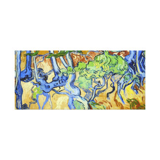 Vincent van Gogh Tree Roots Canvas Print