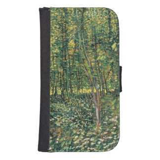 Vincent van Gogh | Trees and Undergrowth, 1887 Galaxy S4 Wallets