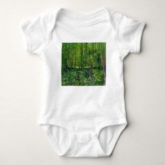 Vincent Van Gogh Trees And Undergrowth Baby Bodysuit