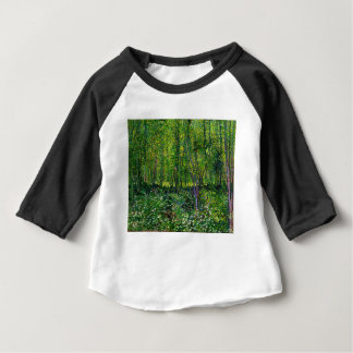 Vincent Van Gogh Trees And Undergrowth Baby T-Shirt