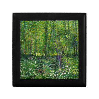 Vincent Van Gogh Trees And Undergrowth Gift Box