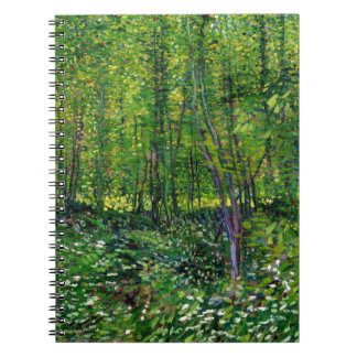Vincent Van Gogh Trees And Undergrowth Notebook