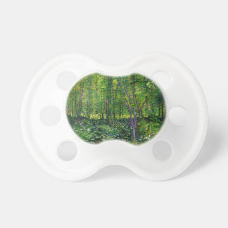 Vincent Van Gogh Trees And Undergrowth Pacifier