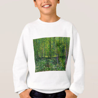 Vincent Van Gogh Trees And Undergrowth Sweatshirt