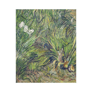 Vincent van Gogh Two White Butterflies Spring Canvas Print