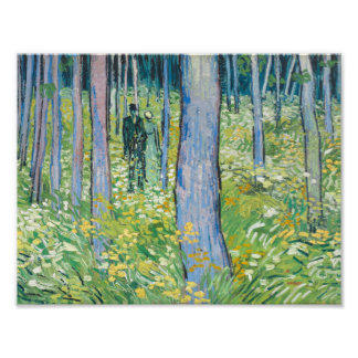 Vincent van Gogh - Undergrowth with Two Figures Photograph
