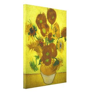 Vincent van Gogh - Vase 12 Sunflowers Canvas Print