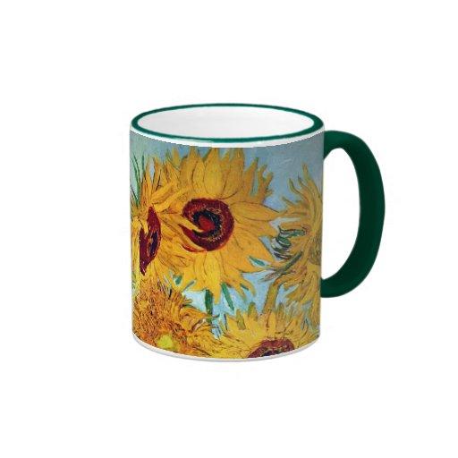 Vincent van Gogh - vase avec 12 tournesols Tasse À Café