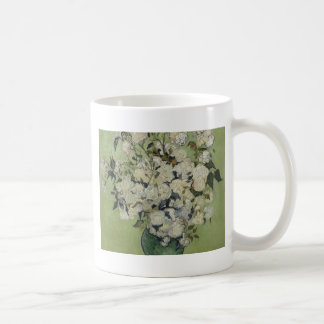 Vincent Van Gogh Vase of Roses Painting Floral Art Coffee Mug