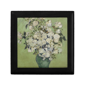 Vincent Van Gogh Vase of Roses Painting Floral Art Gift Box