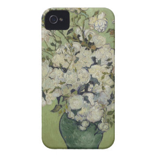 Vincent Van Gogh Vase of Roses Painting Floral Art iPhone 4 Covers