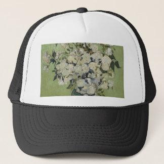 Vincent Van Gogh Vase of Roses Painting Floral Art Trucker Hat