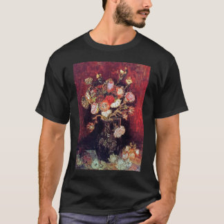 Vincent Van Gogh - Vase With Asters And Phlox T-Shirt
