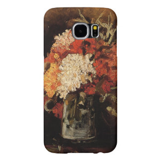 Vincent van Gogh-Vase with Carnations Samsung Galaxy S6 Cases