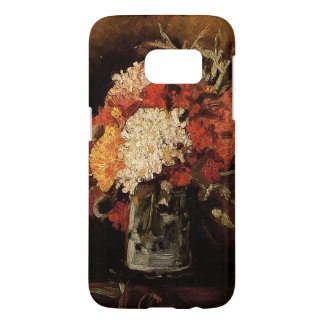 Vincent van Gogh-Vase with Carnations Samsung Galaxy S7 Case