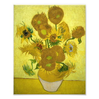 Vincent Van Gogh Vase With Fifteen Sunflowers 1888 Photo Print