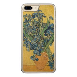 Vincent van Gogh Vase with Irises GalleryHD Art Carved iPhone 8 Plus/7 Plus Case