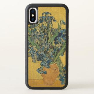 Vincent van Gogh Vase with Irises GalleryHD Art iPhone X Case
