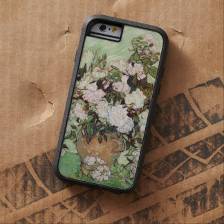 Vincent Van Gogh Vase With Pink Roses Floral Art Tough Xtreme iPhone 6 Case