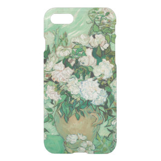 Vincent van Gogh Vase with Pink Roses GalleryHD iPhone 7 Case