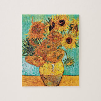 Vincent Van Gogh - Vase With Twelve Sunflowers Jigsaw Puzzle