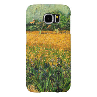 Vincent van Gogh-View of Arles with Irises Samsung Galaxy S6 Cases