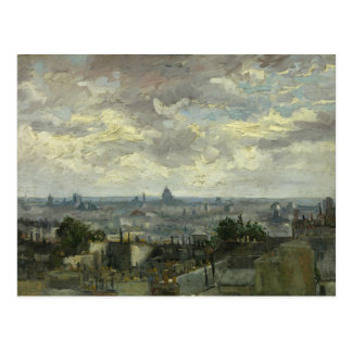 Vincent van Gogh - View of Paris Postcard