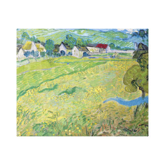 Vincent van Gogh View of Vessenots Near Auvers Canvas Print