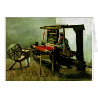 Vincent van Gogh Weaver Card