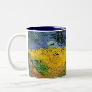 Vincent Van Gogh Wheat Field with Crows Mug