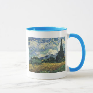 Vincent van Gogh Wheat Fields With Cypresses Mug