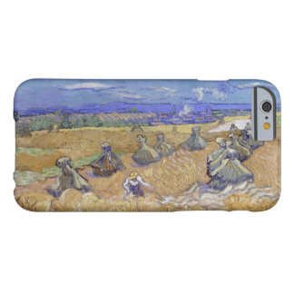 Vincent van Gogh - Wheat Fields with Reaper, Auver Barely There iPhone 6 Case
