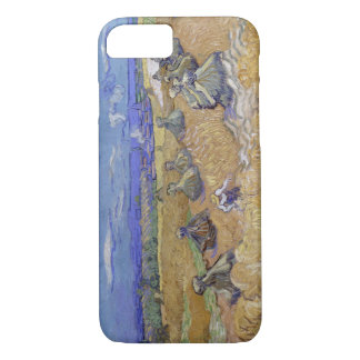 Vincent van Gogh - Wheat Fields with Reaper, Auver iPhone 7 Case