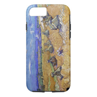 Vincent Van Gogh Wheat Stacks With Reaper Vintage iPhone 7 Case