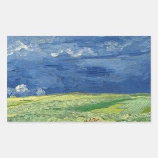 Vincent van Gogh - Wheatfield under Thunderclouds
