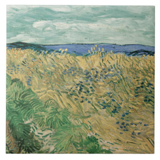 Vincent van Gogh - Wheatfield With Cornflowers Tiles