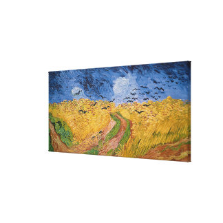 Vincent van Gogh | Wheatfield with Crows, 1890 Canvas Print