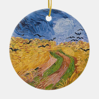 Vincent van Gogh | Wheatfield with Crows, 1890 Ceramic Ornament