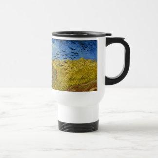 Vincent van Gogh - Wheatfield with crows Mug