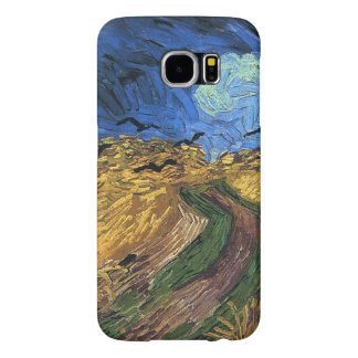 Vincent van Gogh-Wheatfield with Crows Samsung Galaxy S6 Cases