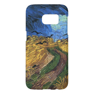 Vincent van Gogh-Wheatfield with Crows Samsung Galaxy S7 Case