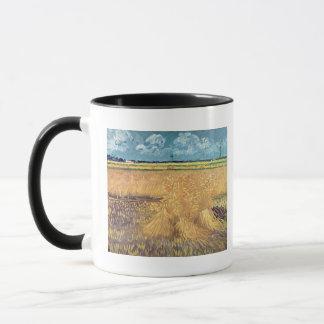Vincent van Gogh | Wheatfield with Sheaves, 1888 Mug