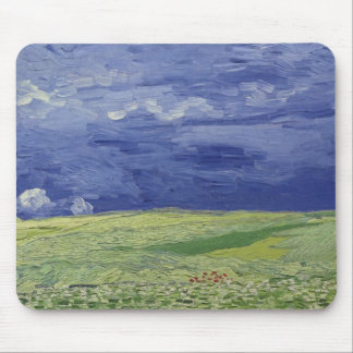 Vincent van Gogh | Wheatfields under Thundercloud Mouse Pad