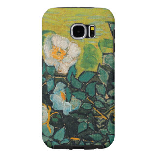Vincent Van Gogh Wild Roses Vintage Floral Art Samsung Galaxy S6 Cases
