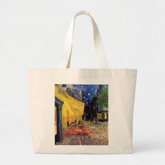 Vincent Van Gogh's 'Cafe Terrace' Tote Bag Jumbo Tote Bag